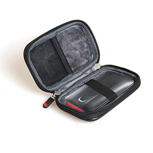 Hermitshell - Funda rígida de EVA para Samsung MU PB2T0B/EU portátil SSD X5 (2 TB, 1 TB, 500 GB)