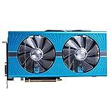 SYFANG Fit for Sapphire RX 590 8GB Tarjetas gráficas GPU RX590 GME 8GB Tarjeta de Video AMD Pantalla de PC de Escritorio Tarjetas gráficas para Juegos Tarjeta de Video