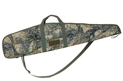 AUMTISC 44 Inch Rifle Case with Adjustable Shoulder Shotgun Case