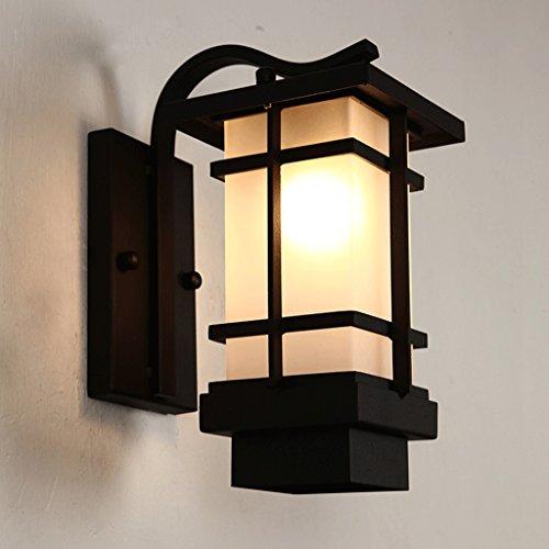 HHCH wandlampen, wandlamp, balkon, Japanse stijl, van ijzer, waterdicht