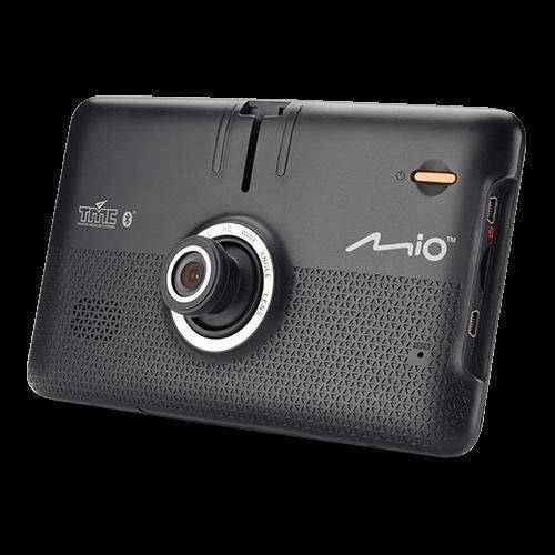 Mio Mivue Drive 60 Lm vast 6,2 inch Lcd touchscreen 295G zwart, zilver navigatiesysteem - navigatiesystemen (heel Europa, 15,8 cm (6,2 inch), 800 x 480 pixels, Lcd, 16:10, Flash)