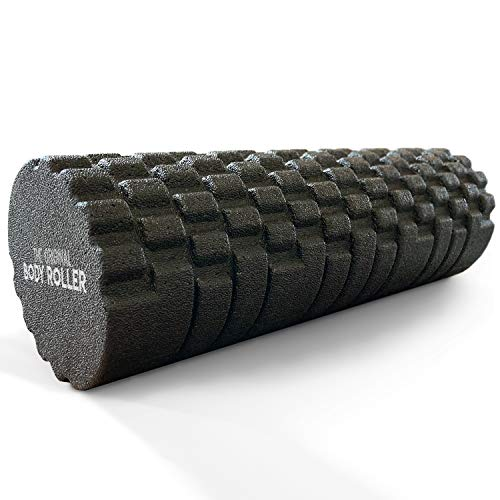 The Original Body Roller - High Density Foam Roller Massager for Deep Tissue Massage of TheBack...