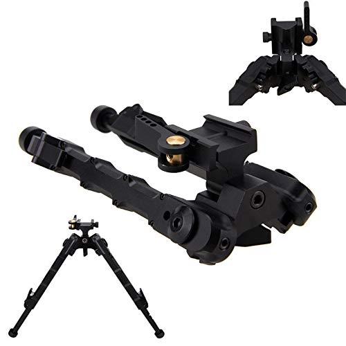 Winer Outdoor Trípode táctico al Aire Libre V9 Rifle de Aire M-LOK 6-9 Pulgadas, Adecuado para Caza y Tiro al Aire Libre