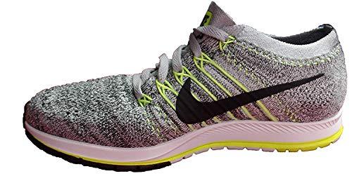 Nike Womens Flyknit Streak Low Top Lace Up Running, Blue Glow/White, Size 13.5