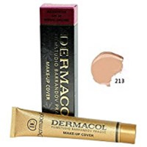 Dermacol Make - Up Cover Waterproof Hypoallergenic SPF 30 #210 by Dermacol ( Cover All Ance Scar and Tattoo) by Dermacol