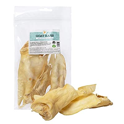 JR Pet Products 500g 100% Natural Goat Ears