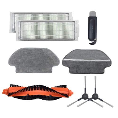 DONGYAO Robot Partes de aspirador cepillo principal hepa filtro lado cepillo fregona para STYJ02YM Partes de aspirador Accesorios para Partes de aspirador