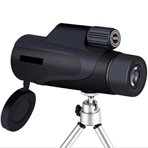 Hemobllo - Monocular telescópico para teléfono, visión nocturna, adaptador telescópico para observación de aves, caza, viajes, senderismo