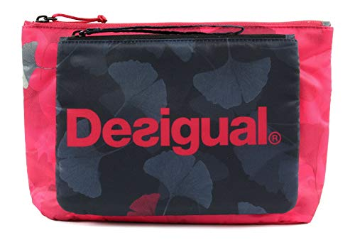 Desigual Ginko Dance Toilet Bag Patch Pocket Negro