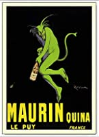 ポスター レオネット カピエッロ Maurin Quina le Puy 額装品 アルミ製ベーシックフレーム