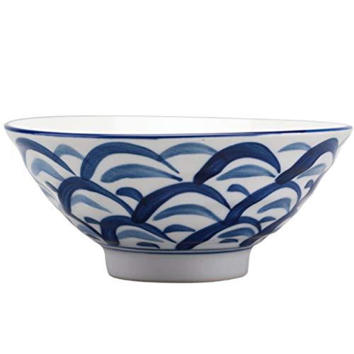 perfeclan Tazón de arroz de cerámica de Estilo japonés Oriental Vajilla Pintada...