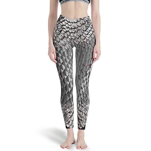 Armor War - Pantalones de yoga para mujer, cintura alta, para deportes