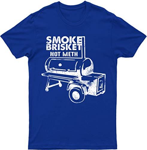 YOU ARE MY SUNSHINE Smoke Brisket Not Meth Smoking BBQ Cow Meat Smoker Classic T Shirt Tee Top(Royal,X-L)