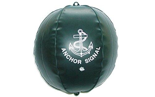 wellenshop Ankerball aufblasbar Durchmesser 40 cm für Segelboote Signalball