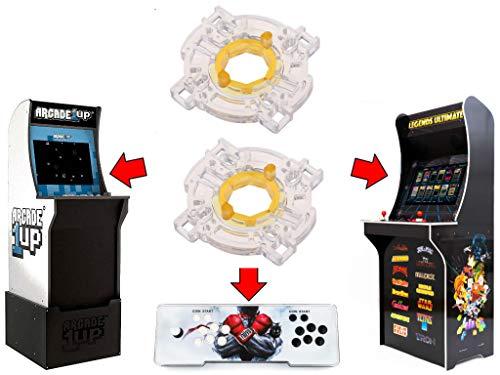 Alvatron Set of 2 Arcade Octagon Gates for Arcade1up, AtGames Legends Ultimate Arcade, Pandora
