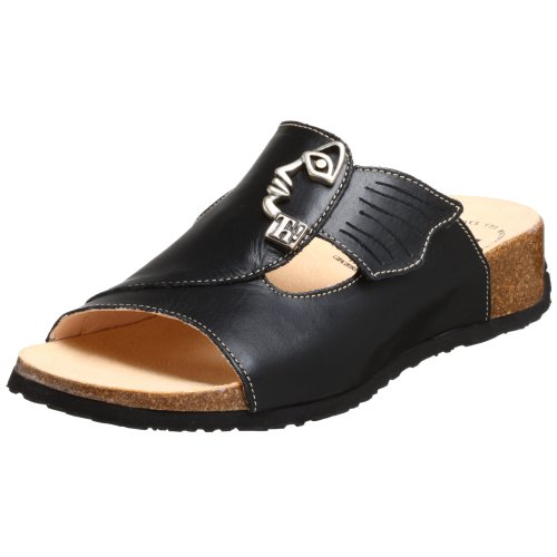 Think! Women's Mizzi 34411 Sandal,Black Nappa Veg,40 EU (US Women's 9 M)