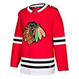 adidas Chicago Blackhawks NHL Men's Climalite Authentic Team Home Red Hockey Jersey (Large)