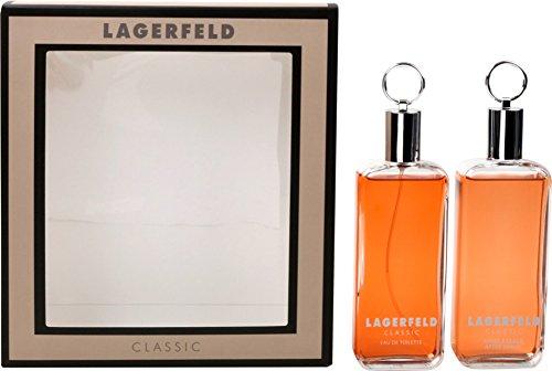 Karl Lagerfeld Classic Geschenkset Eau de Toilette 125 ml und Aftershave 125 ml, 1er Pack