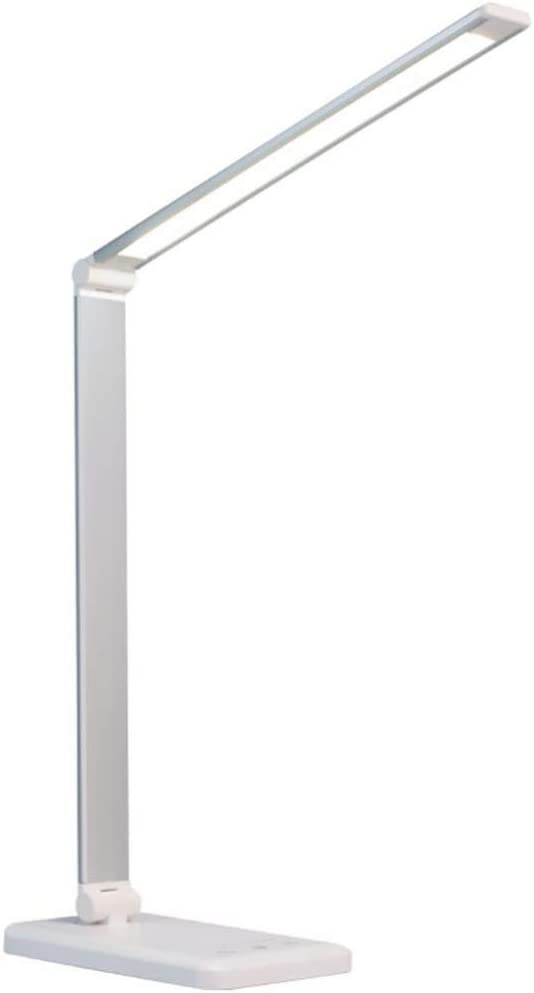 NUOBESTY New item LED Desk Light Eye Caring L Office Max 53% OFF Lamps Dimmable Table