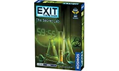 Escape Room game for the home 1 to 6 players; 1 to 2 hour playing time Includes materials for single use This game can be played only once, because you markup, fold, and tear the game materials.
