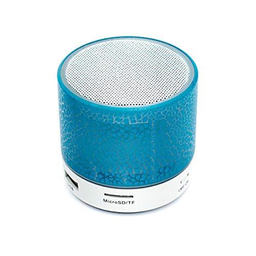 Mini-Bluetooth-Lautsprecher, kabellos, LED, TF-Karte, USB, MP3, Musik, Tonsäule für...