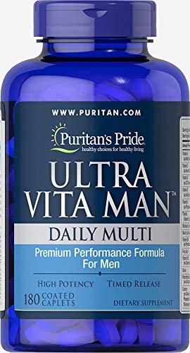 Puritans Pride Ultra Vita Man Time Release, 180 Count