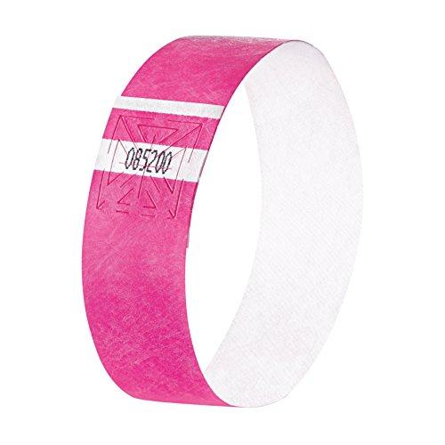 SIGEL EB210 Eventbänder Super Soft, neon pink, 120 Stück - viele Farben