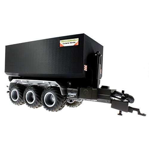 Mulden Hoch Container für Siku Control 32 Krampe Hakenlift (6786) (Schwarz)