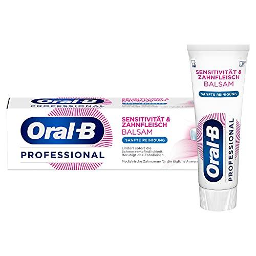 Oral-B Professional Sensitivität & Zahnfleisch Balsam Sanfte Reinigung Zahncreme 75ml