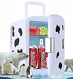 FSJD Mini Frigorifero per Coca Cola per camere da Letto Mini Frigorifero per Auto Silenzio...