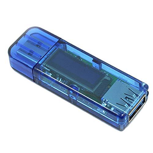 New HWMATE USB 3.0 OLED 4 Digit Voltmeter Ammeter Current Voltage Power Tester Meter White Font