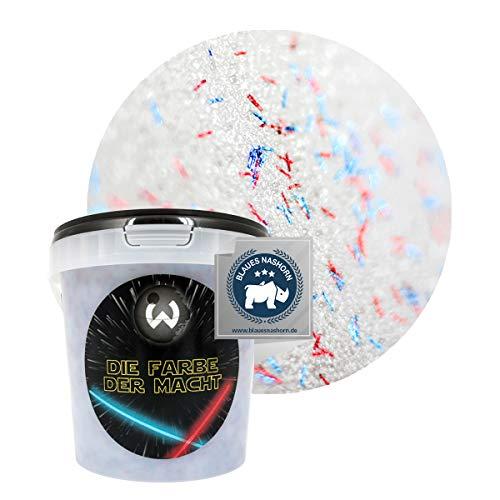 Wanders24 Die Farbe der Macht (1 Liter, Die Farbe der Macht) transparente Lasur mit Glitzer-Effekt, individuelle Gestaltung, Farbe Made in Germany