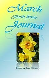 March Birth Flower Journal
