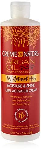 Creme of Nature Crème pour Boucles à l'Huile d'Argan, 354 ml