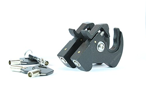 Locking Detachable Rotary Docking Latches for Harley Davidson Sissy Bar and Luggage Rack