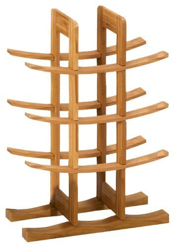 Zeller 13580 Weinregal, Bamboo / 29 x 16 x 42 - 3