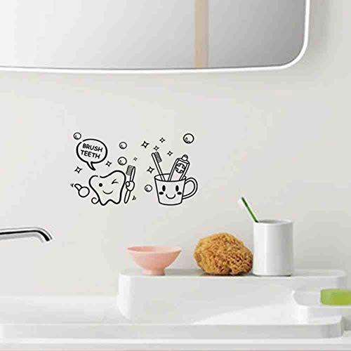 JPDP De Nieuwe Tandenborstel Badkamer Toiletpapier Groothandel Aangepaste Achtergrond Muur Waterdicht Kan worden verwijderd