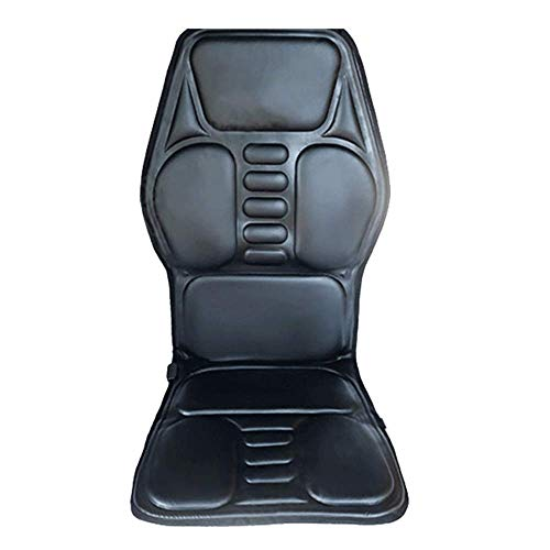 Terug massagestoel Vibrerende auto zitkussen for rug, nek en dij met 9 trillingen van de motor for het kantoor aan huis auto shoulder and neck massage