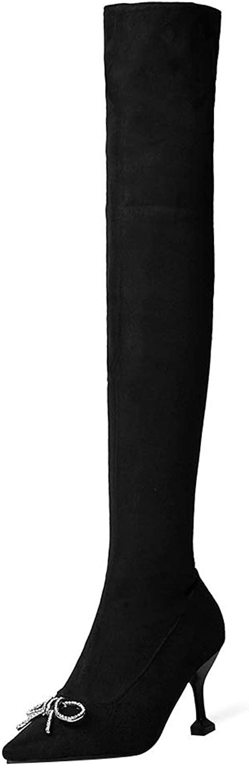 MAYPIE Womens Topanda Synthetic Zipper Knee-High Boots