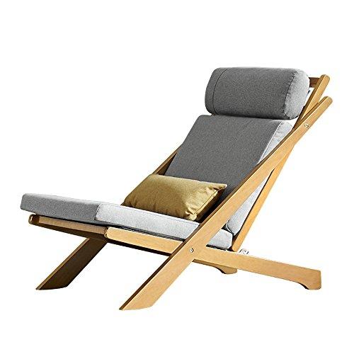 Sun Lounger Loisirs de plein air Plage Terrasse Transat Chaise pliante, Chaise longue