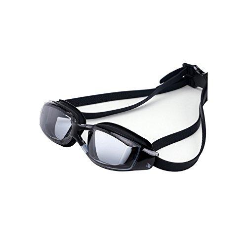 Gafas de natación Summer Electro Platamiento Plano Luz Gafas Gafas Anti-UV Silicona Buceo Piscinas de Agua Natación Adulto Señoras Hombres Deportes Gafas Accesorios de natación ( Color : Type C )