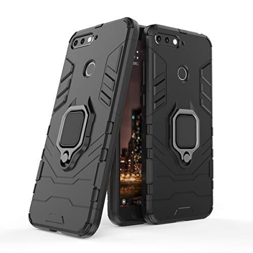 ZHIWEI Bolso de un teléfono portátil para Huawei Honor 7A Funda telefónica, Caja de Smartphone de rotación de 360 Grados, Cubierta de la Caja del teléfono a Prueba de Golpes para Huawei Honor 7A