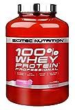 Scitec Nutrition 100% Whey Protein Professional con aminoácidos clave y enzimas digestivas adicionales, 2.35 kg, Fresa