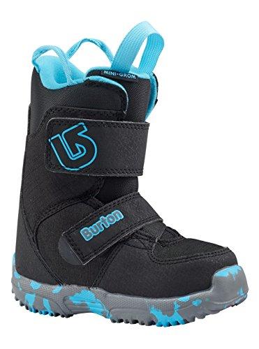 Burton Mini-GROM Bottes de Snowboard Mixte Enfant, Black, 11C