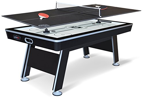 EastPoint Sports NHL Air Hockey Table with Table Tennis Top, 80 Inch (1-1-34333-DS)