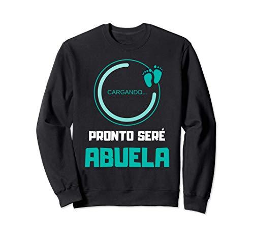 Camiseta para Baby Shower para Abuela de Niño Nieto Varon Sudadera