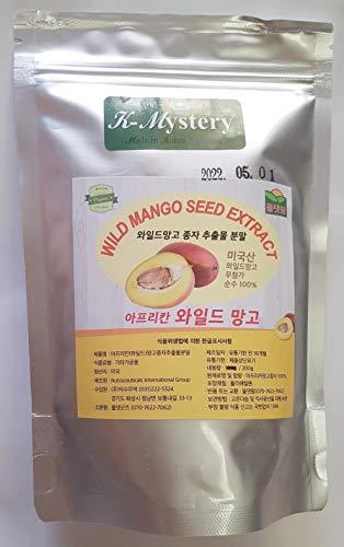 Wild Mango Seed Extract Powder (와일드 망고 분말) 7.1oz (200g), African Mango, Weight Loss
