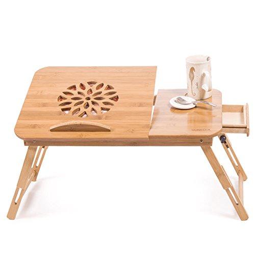 Tavolo pieghevole di legno ufficio Supporto scrivania per computer