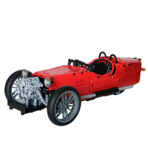 WDLY 968 PCS Building Block Morgan Dreirad, Puzzle Spielzeug Technic Super-Racing RC Car Kit, Modell Bausteine Kompatibel Mit Lego, Ziegel Spielzeug Für Erwachsene Oder Kinder