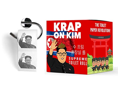 Kim Jong Un papel higinico  Divertido rollo de loo  Krap on Kim